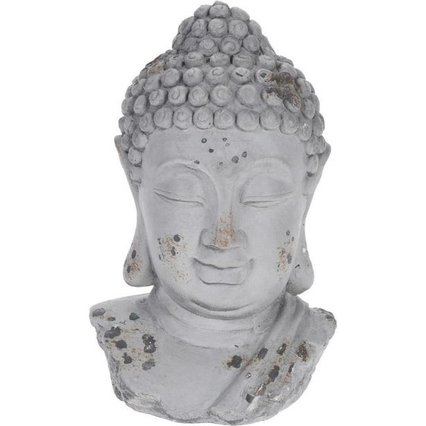 Buddha Head Cement Ornament offer at £5.49