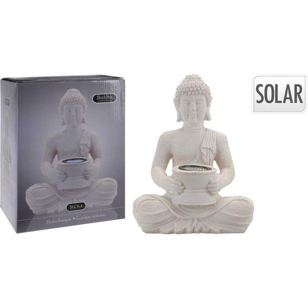 Buddha Solarlight Garden Ornament offer at £15.99