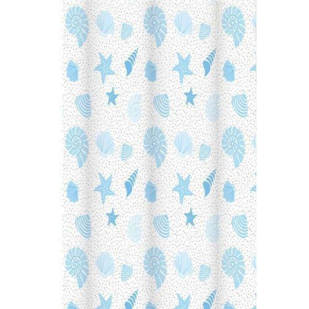 Aruba Printed Shower Curtain offer at £13.99