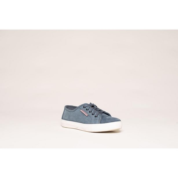 Brakeburn Lace Up Tennis Shoe - Blue offer at £27.99
