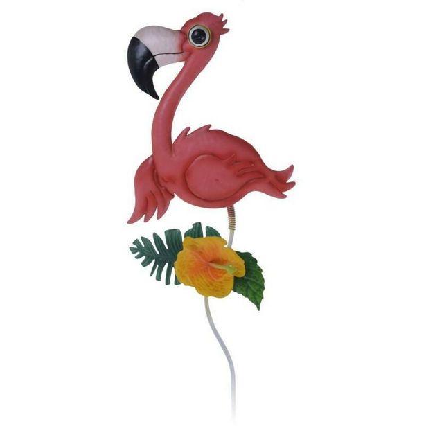 Flamingo Garden Pick Metal Ornament offer at £4.99