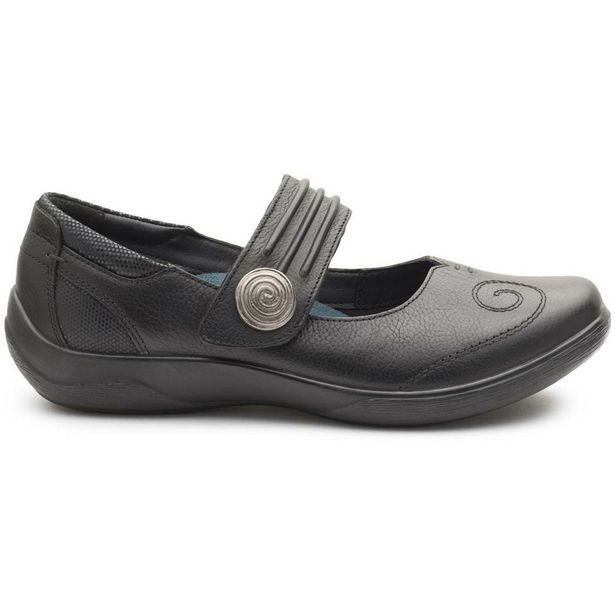 Padders Poem Casual Shoes - Black offer at £39