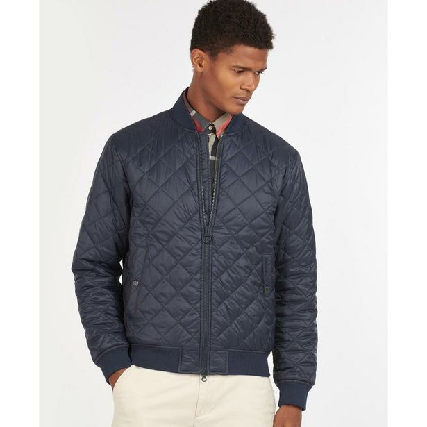 Barbour Gabble Quilted Jacket - Navy offer at £104