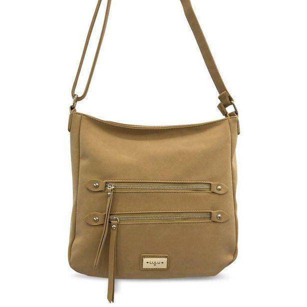DK Bags Shoulder Bag - Camel offer at £22.99