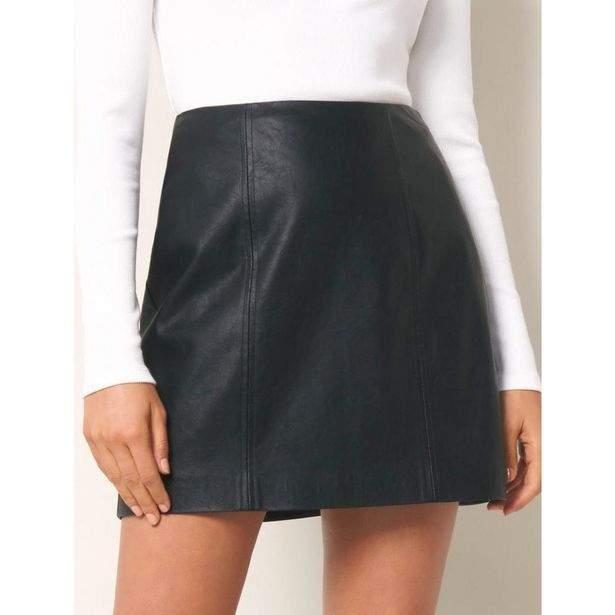 Forever New Peyton Seamed PU Mini - Black offer at £9.99