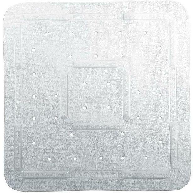 Comfy Shower Mat 55X55Cm White offer at £12