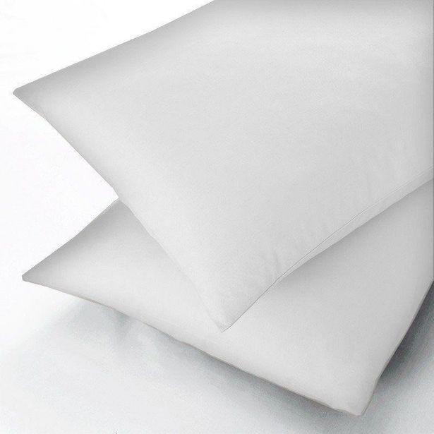 Sanderson Egypt Cotton 600Tc Housewife Pillowcase - White offer at £15