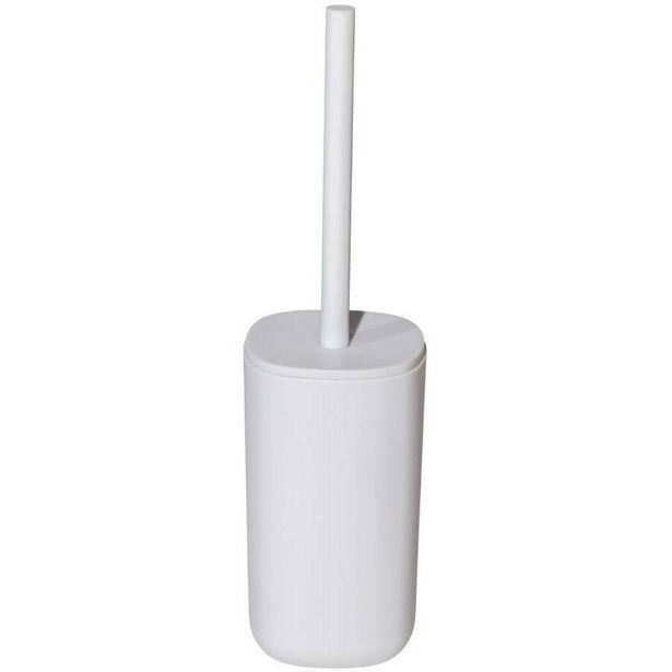 Kuba Collection Toilet Brush & Holder White offer at £11