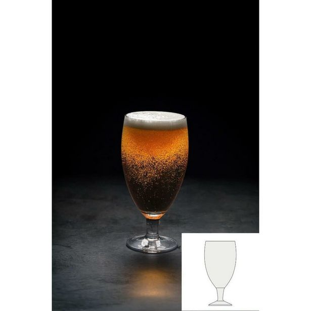 IKONIC 58 - Handmade Beer Glass offer at £3.99