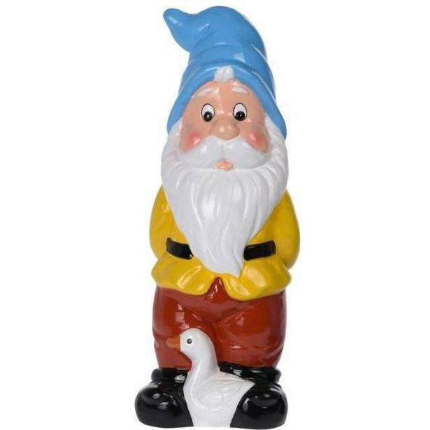 Garden Dwarf Ornament - Blue/Yellow offer at £4.49