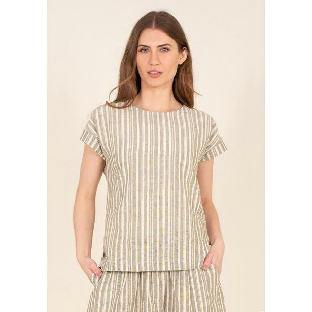 Brakeburn Boxy Co-Ord Tee - Green offer at £27.99
