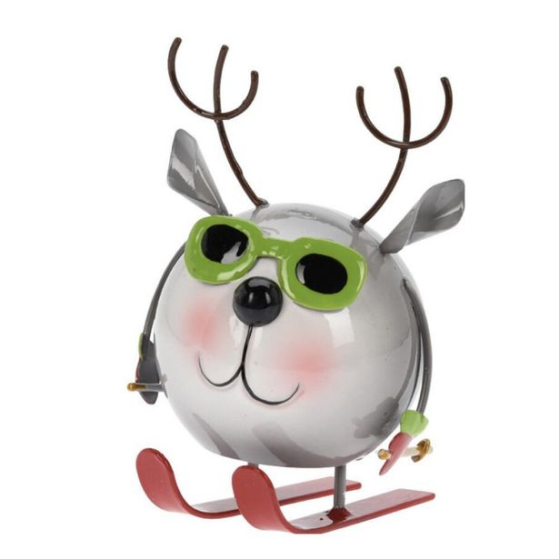 Metal Polar Bear Figurine with Spring Legs offer at £7.69