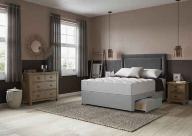 Simply Bensons Naples Options 1000 Pocket Divan Bed Set offer at £519.99