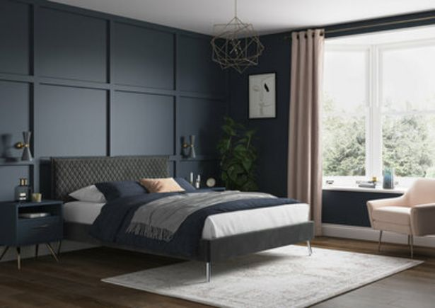 Aura Upholstered Bed Frame offer at £224.99