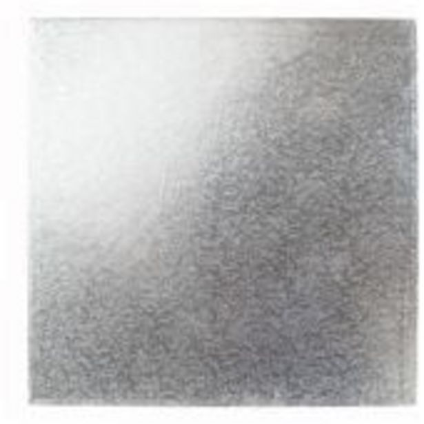 Silver 8 Inch Square Cake Card offer at £2.5