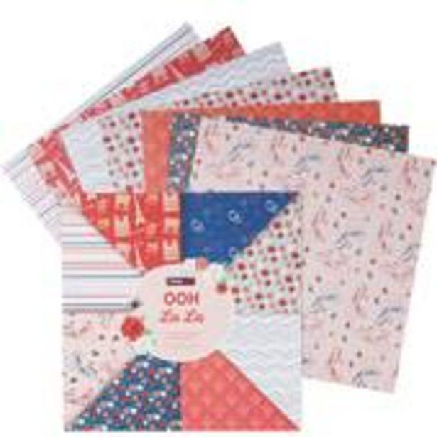 Ooh La La 12 x 12 Inches Paper Pad 24 Sheets offer at £4.5