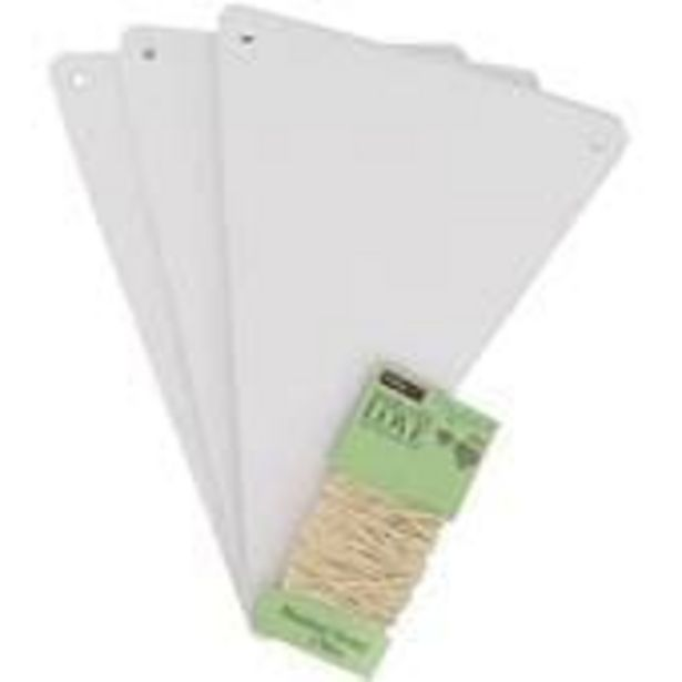 White Paper Bunting Kit 5m offer at £2