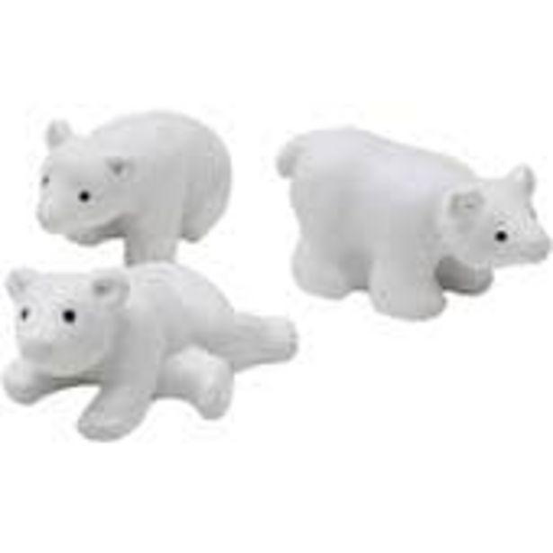 Resin Polar Bear Bauble Fillers 3 Pack offer at £1.5