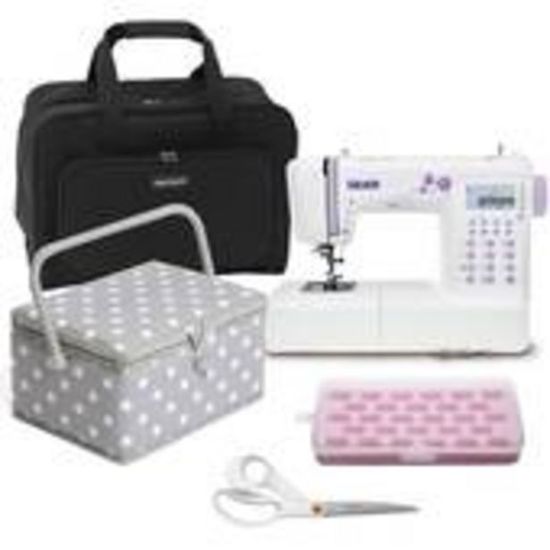 Silver 404 Sewing Machine and Accessories Bundle offer at £400