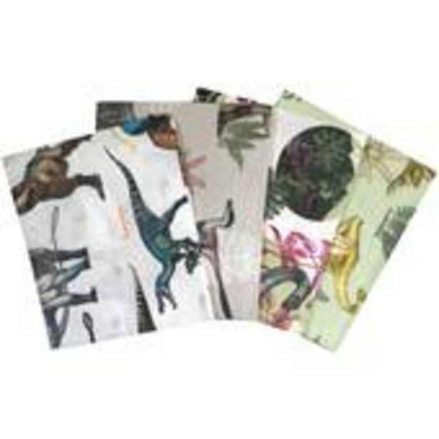 Age of Dinosaurs Cotton Fat Quarters 4 Pack offer at £7