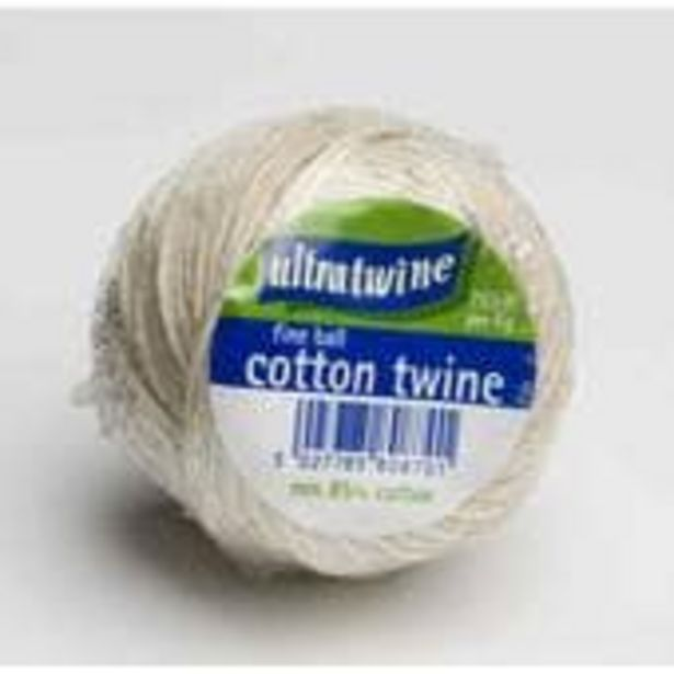 Fine Cotton Twine offer at £2.5