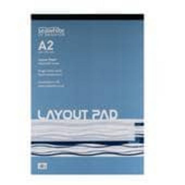 Seawhite Layout Paper Pad A2 offer at £9
