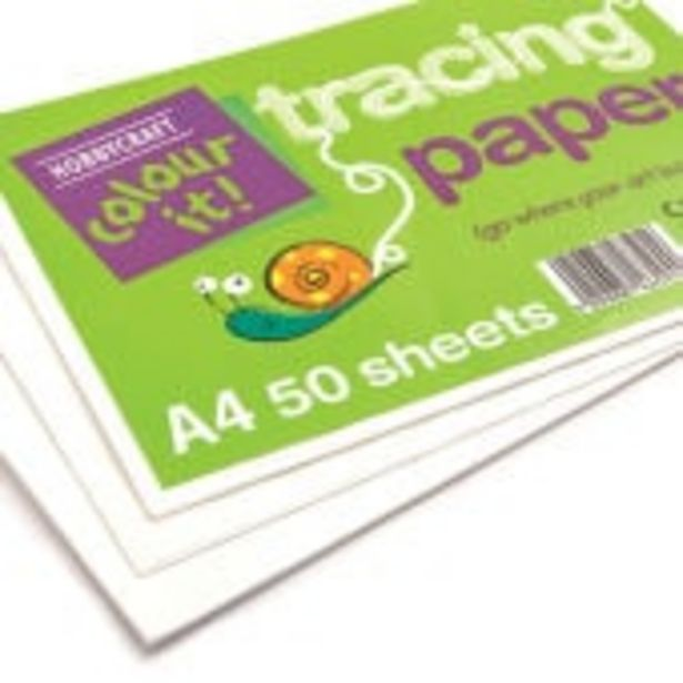 Tracing Paper A4 50 Sheets offer at £2