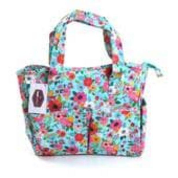 Teal Floral Garden Craft Bag offer at £22