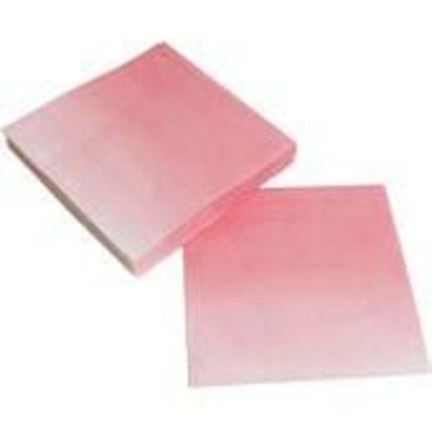 Pink Ombre Paper Napkins 20 Pack offer at £2