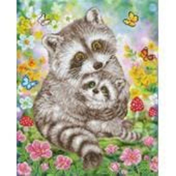 Diamond Dotz Sweet Raccoons 42cm x 52cm offer at £32