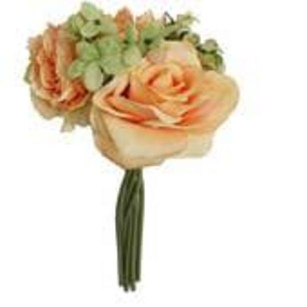 Peach Vintage Flower Bundle 24cm offer at £6