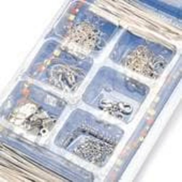 Beads Unlimited Findings Box Silver Plated offer at £5