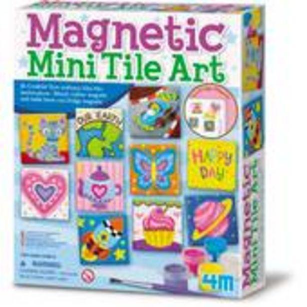 Magnetic Mini Tile Art offer at £9