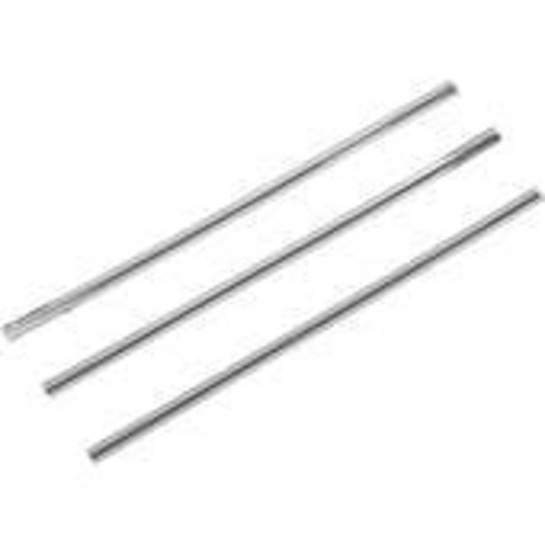 Wilton Silver Foil Twist Ties 50 Pack offer at £1.1