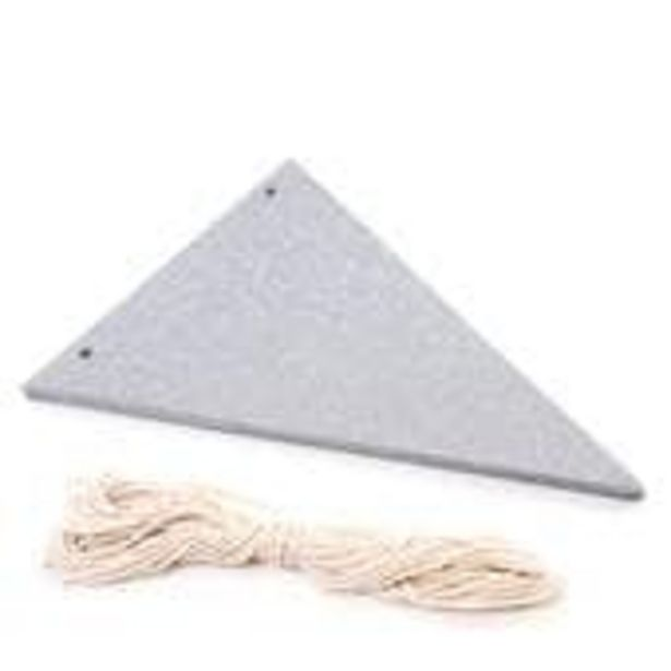 Silver Glitter Bunting 5m offer at £3