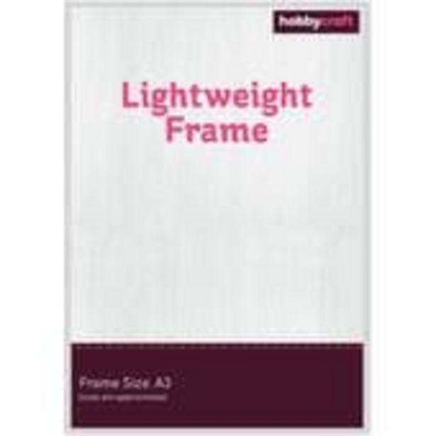 Silver Lightweight Frame A3 offer at £6.5
