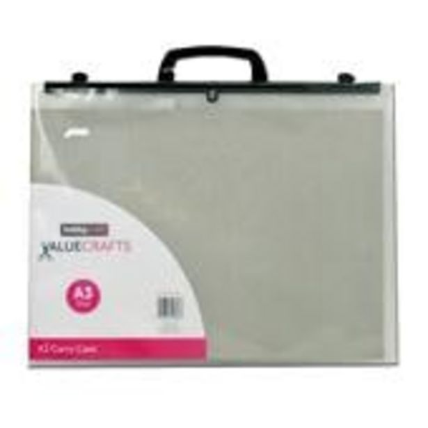 Clear Carry Case A3 offer at £5
