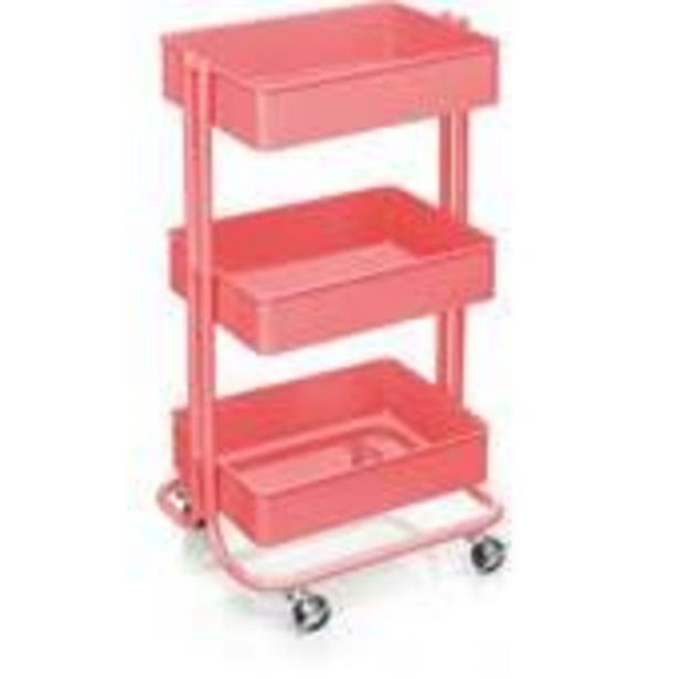 Coral Three Tier Storage Trolley offer at £25