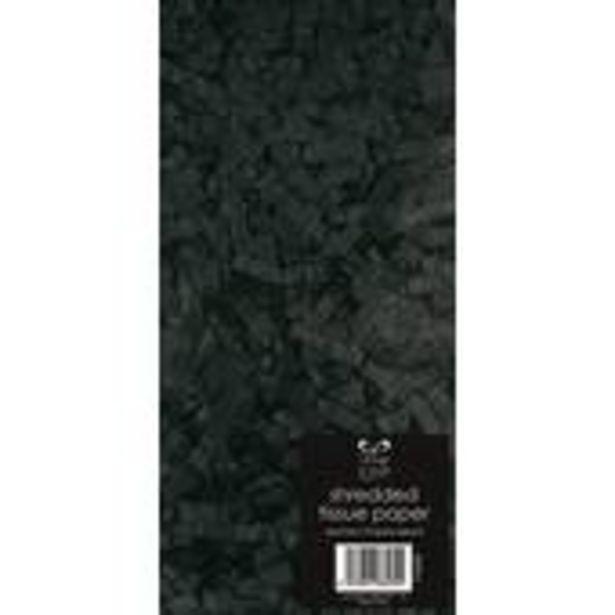 Black Shredded Tissue Paper 20g offer at £1.4