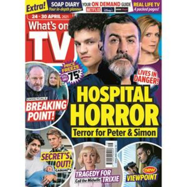 Whats On TV England All Editions offer at £0.75