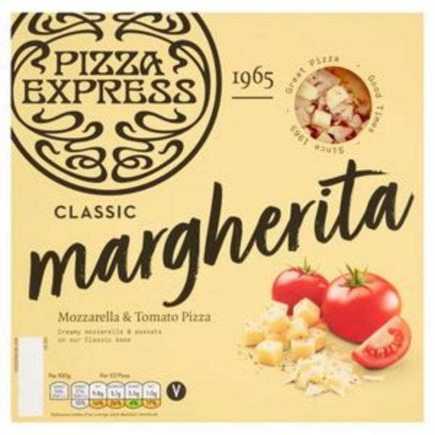 Pizza Express Margherita Pizza 245g offer at £2.5