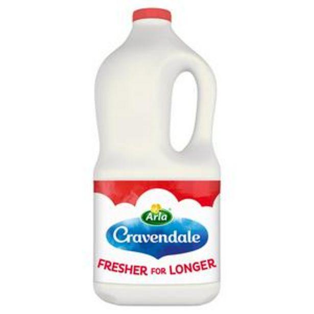 Cravendale Purefilter Skimmed Milk 2L offer at £1.6