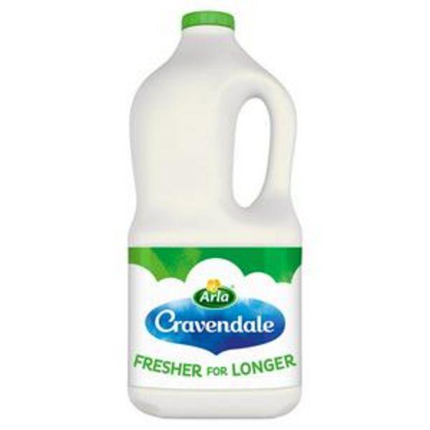 Cravendale Purefilter Semi Skimmed Milk 2L offer at £1.6