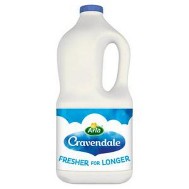 Cravendale Purefilter Whole Milk 2L offer at £1.6