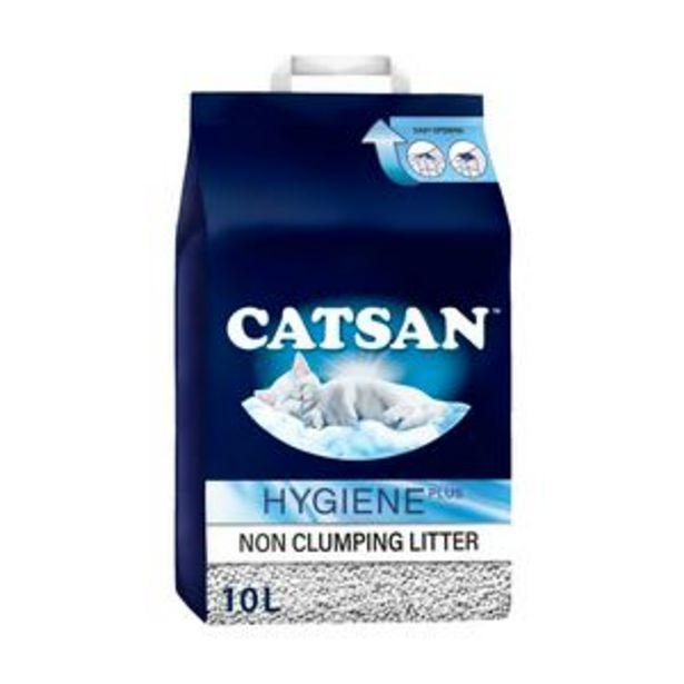 Catsan Hygiene Cat Litter Bag 10L offer at £6.5