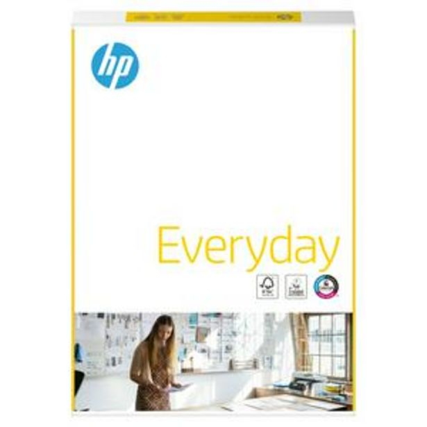 Hp Everyday A4 Printer Paper 75Gsm X500 Sheets offer at £5