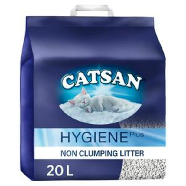 Catsan Hygiene  Cat Litter Bag 20L offer at £13