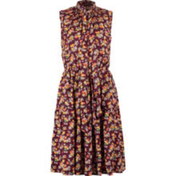 Plum Floral Midi Dress offer at £119.99