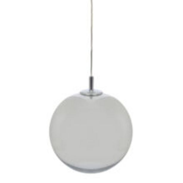 Silver Tone Mirrored Sphere Ceiling Light 30x30cm offer at £99.99