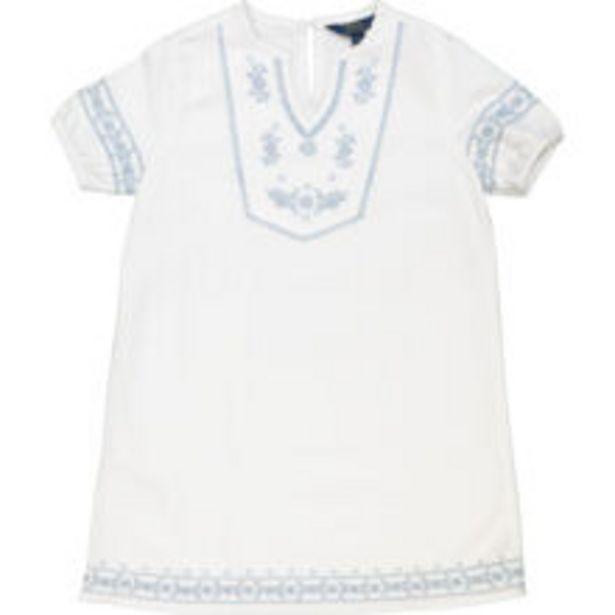 White & Blue Boho Dress offer at £24.99